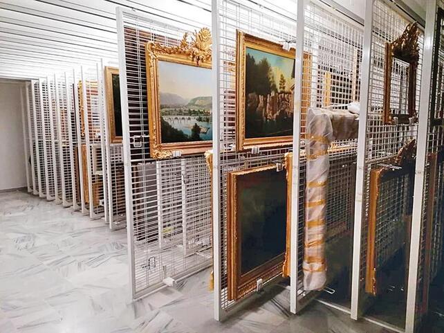 Çöplükten saraya... Resim Müzesi'nin kapıları Hürriyete açıldı